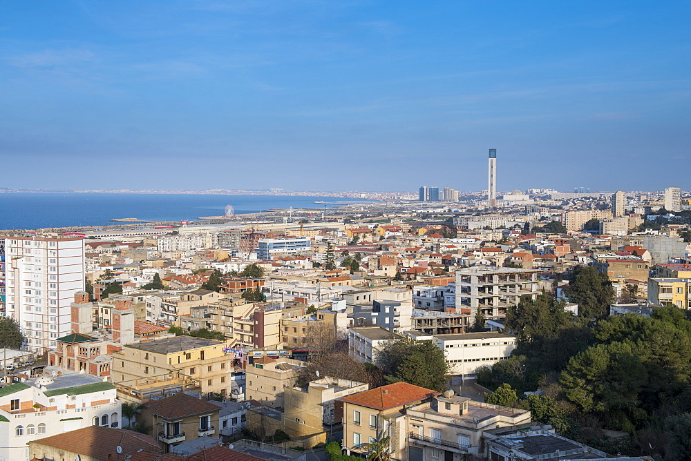 View over Algiers, Algeria, North Africa, Africa