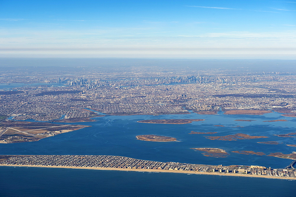 Aerial of New York, United States of America, North America