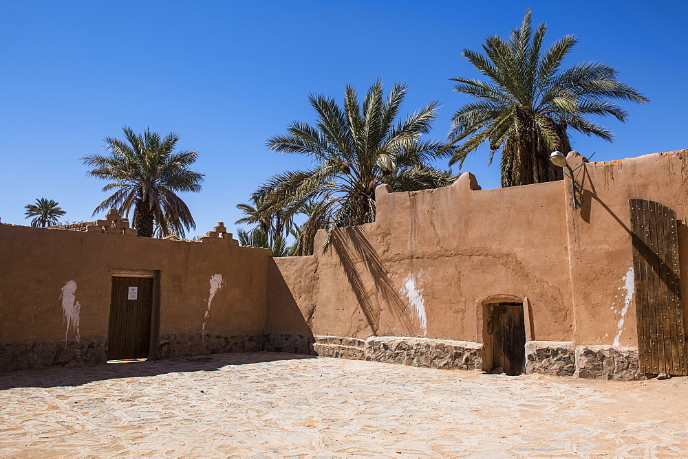 Old Ksar, old town of Beni Abbes, Sahara, Algeria, North Africa, Africa