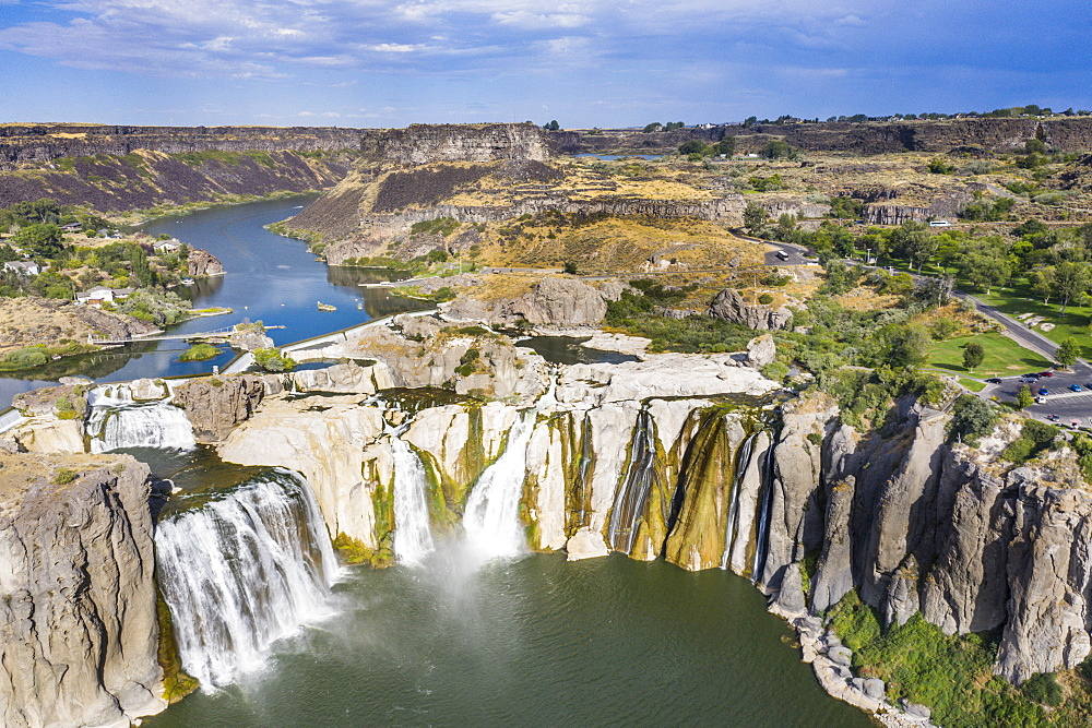 Shoshone Falls cascades, Twin Falls, Idaho, United States of America, North America