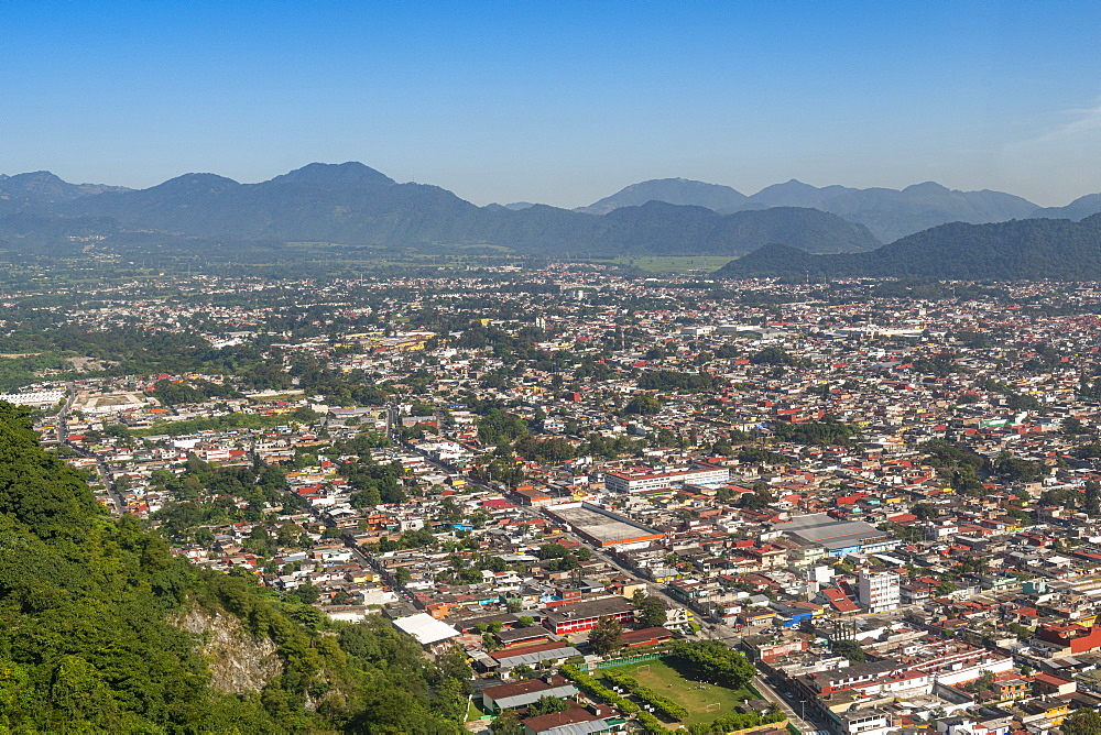 Overlook from the cerro Borrego over Orizaba, Veracruz, Mexico