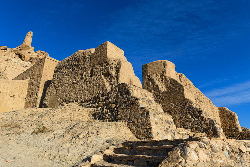 Shahr-e Gholghola (City of Screams) ruins, Bamyan, Afghanistan, Asia