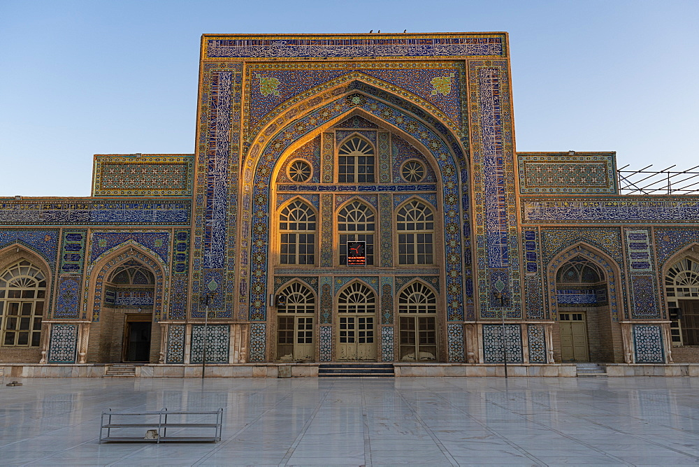 Sunrise over the Great Mosque of Herat, Afghanistan, Asia
