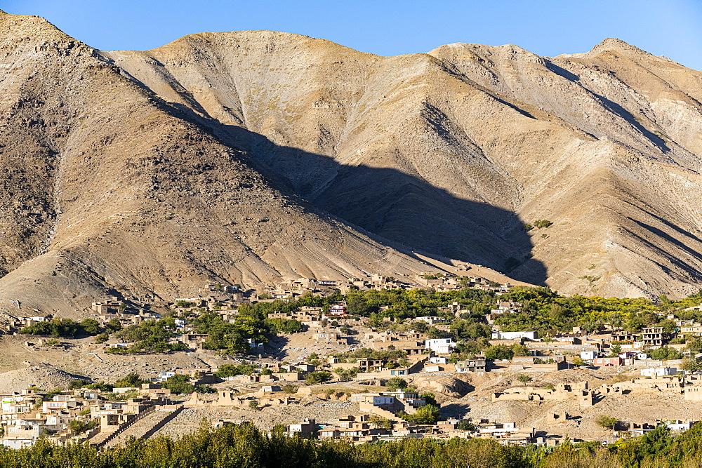 Mountain village in the Panjshir Valley, Afghanistan - 1184-3505