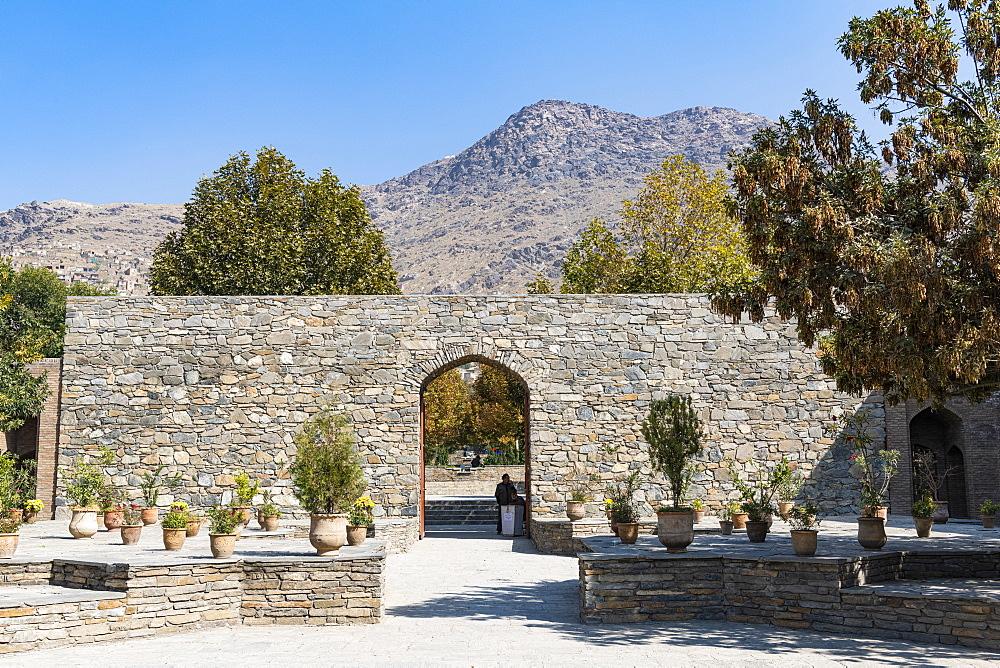 Gardens of Babur, Kabul, Afghanistan, Asia