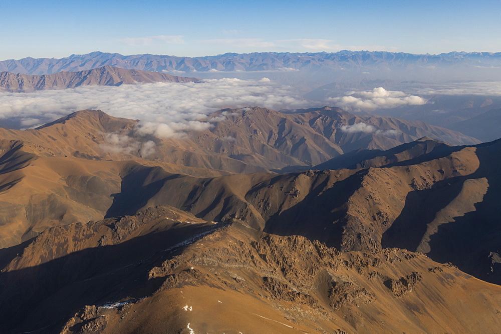 Aerial of Afghanistan around Bamyan - 1184-3530