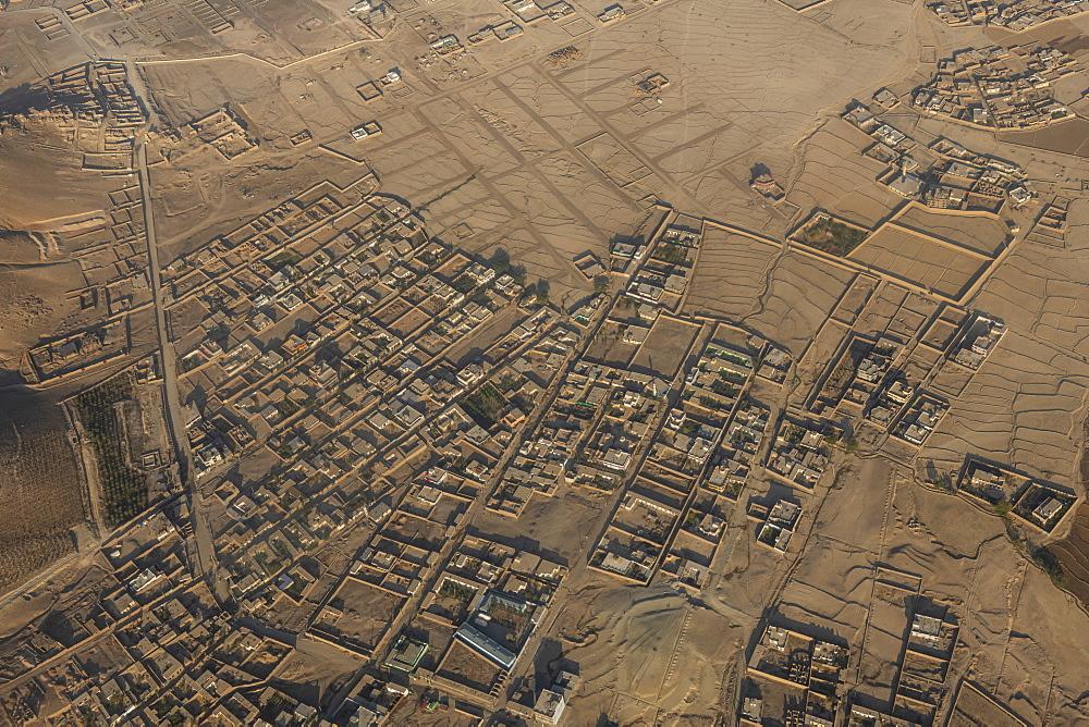 Aerial of Kabul, Afghanistan - 1184-3532