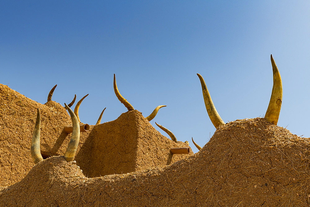 Traditional house, UNESCO World Heritage Site, Agadez, Niger, West Africa, Africa