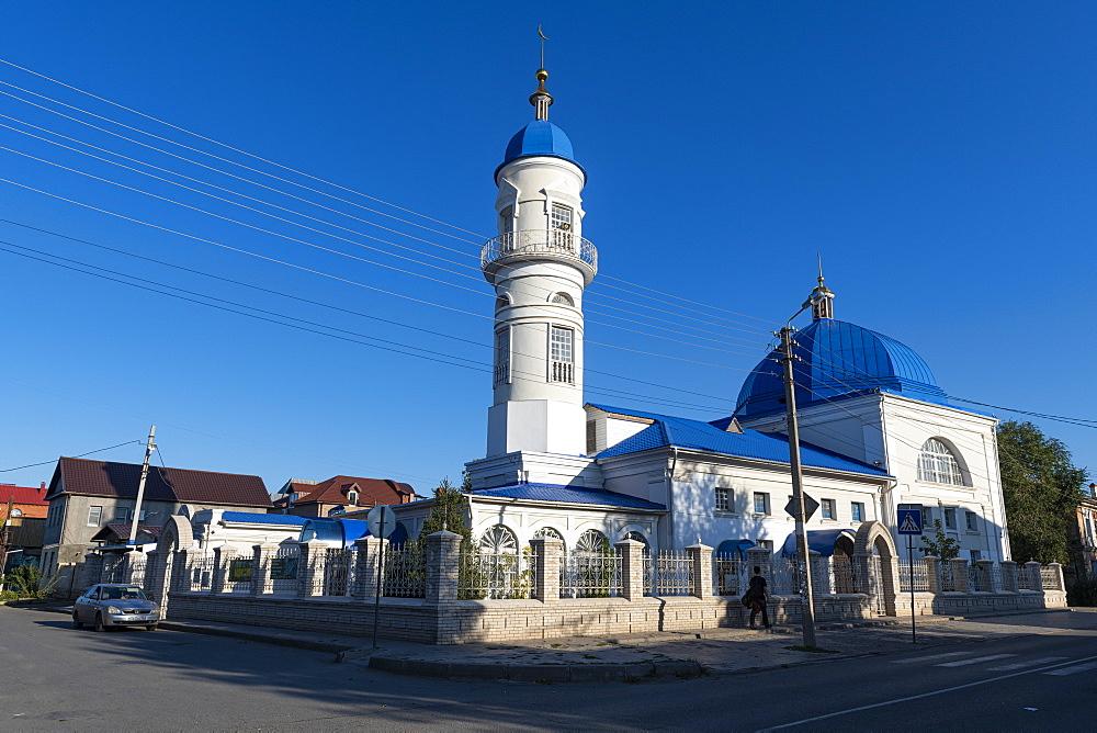 White Mosque of Astrakhan, Astrakhan Oblast, Russia, Eurasia