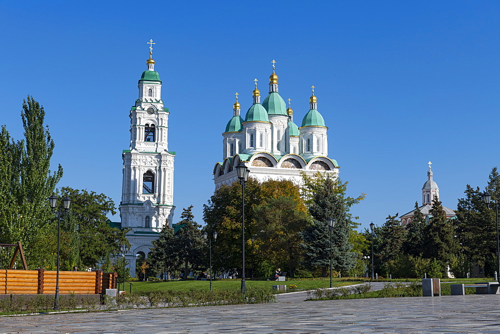 Assumption Cathedral , Kremlin of Astrakhan, Astrakhan Oblast, Russia