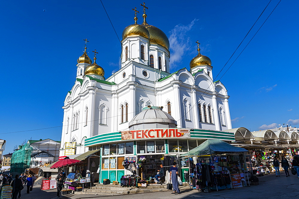 Cathedral of the Nativity of the Theotokos in Rostov-on-Don, Rostov Oblast, Russia