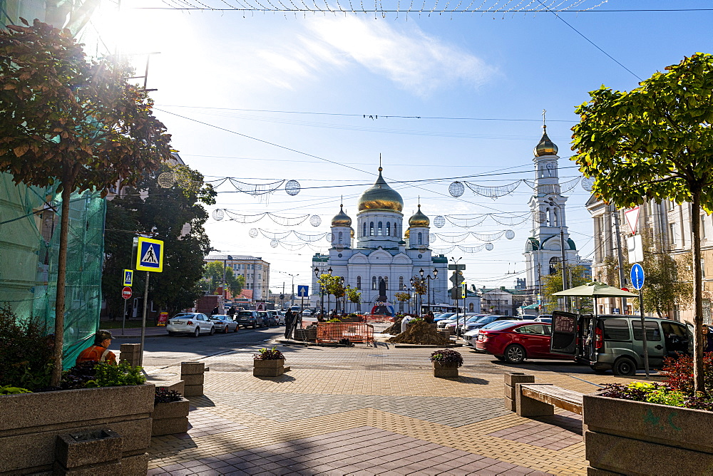 Cathedral of the Nativity of the Theotokos, Rostov-on-Don, Rostov Oblast, Russia, Eurasia