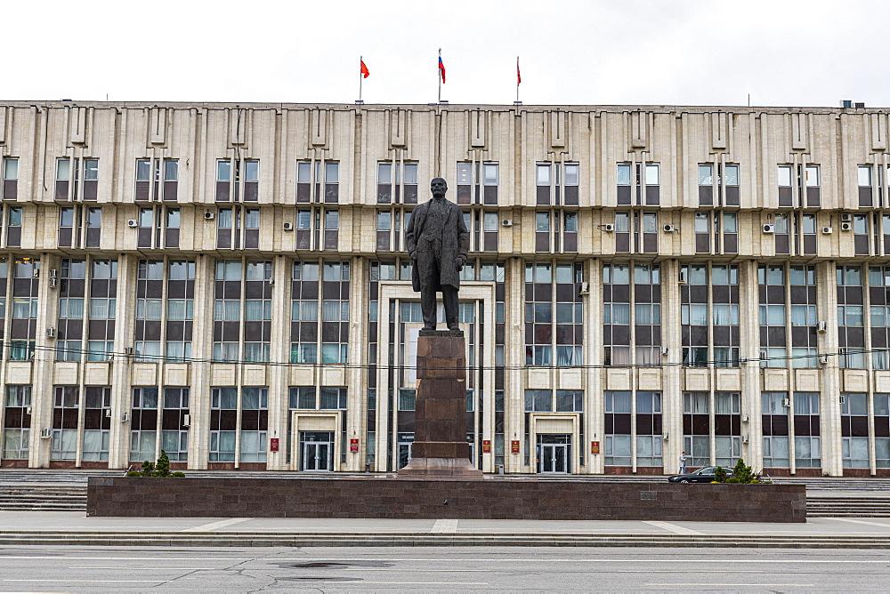 Lenin statue on Lenin square, Tula, Tula Oblast, Russia