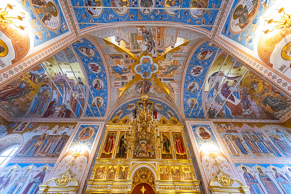 Interior of the all Saints Cathedral in the Kremlin of Tula, Tula Oblast, Russia