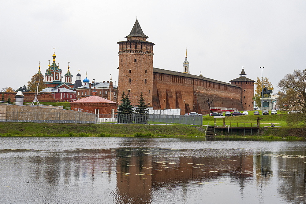 The old kremlin of Kolomna, Moscow Oblast, Russia