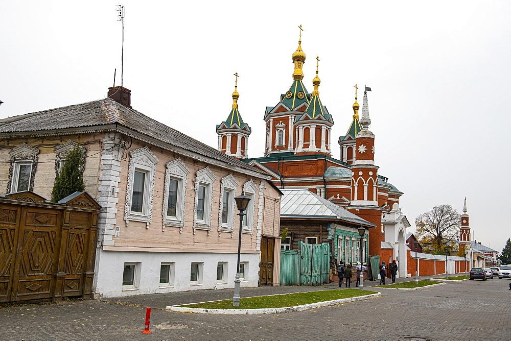 Church of St. Nicholas in Posada, Kolomna, Moscow Oblast, Russia