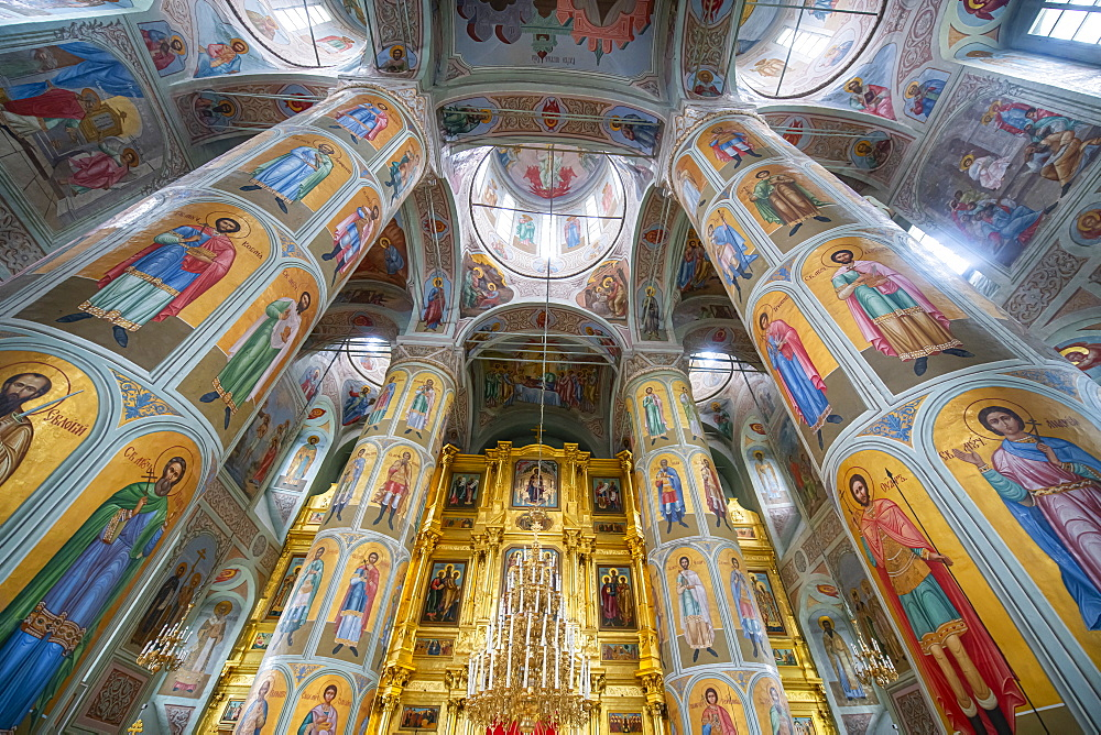 Interior of the Cathedral of Kolomna, Moscow Oblast, Russia