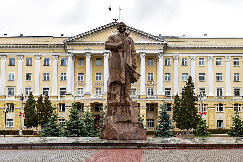 Lenin statue, Smolensk, Smolensk Oblast, Russia