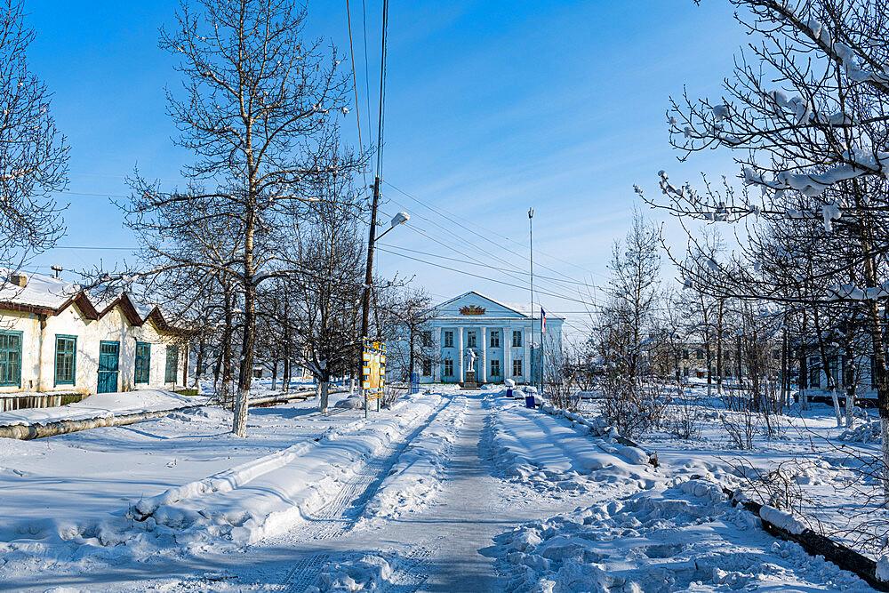 Artyk village, Road of Bones, Sakha Republic (Yakutia), Russia, Eurasia