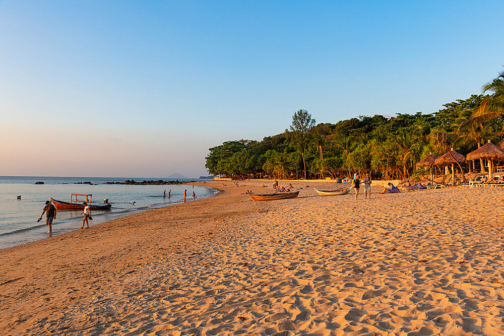 Sunset on Relax bay beach, Koh Lanta, Thailand - 1184-3824