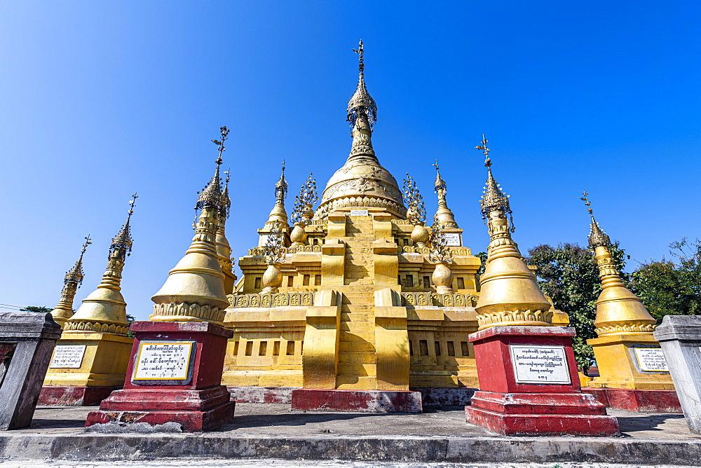 Aung Zay Yan Aung Pagoda, Myitkyina, Kachin state, Myanmar (Burma), Asia