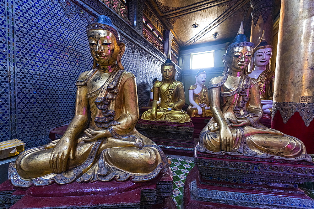 Shinmokti pagoda, Dawei, Mon state, Myanmar (Burma), Asia
