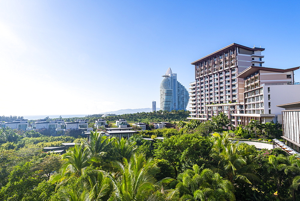 High rise hotel in Haitang bay, Sanya, Hainan, China, Asia