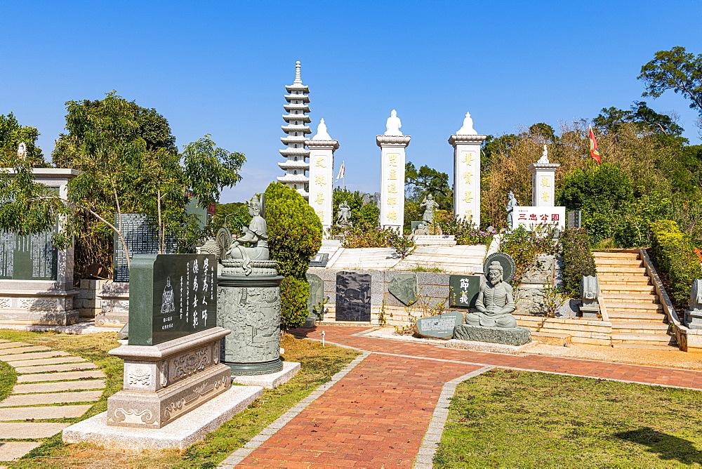 Modern Buddha park, Kinmen island, Taiwan