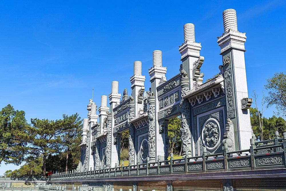 Wenwu temple, Sun Moon Lake, National Scenic Area, Nantou county, Taiwan, Asia