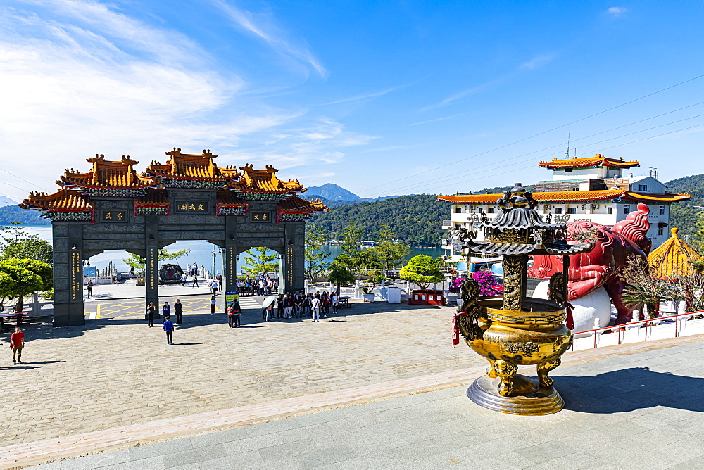 Wenwu temple, Sun Moon Lake National Scenic Area, Nantou county, Taiwan