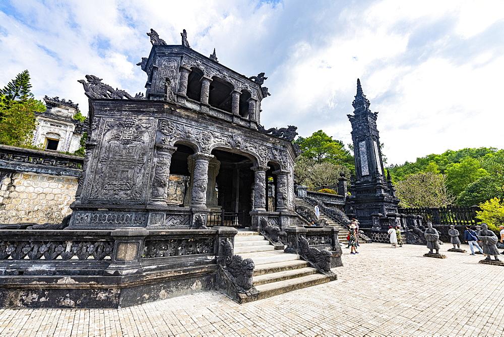 Tomb of Khai Dinh, Hue, UNESCO World Heritage Site, Vietnam, Indochina, Southeast Asia, Asia