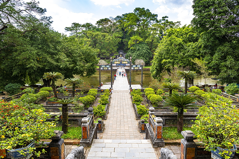 Minh Mang Tomb, Hue, UNESCO World Heritage Site, Vietnam, Indochina, Southeast Asia, Asia