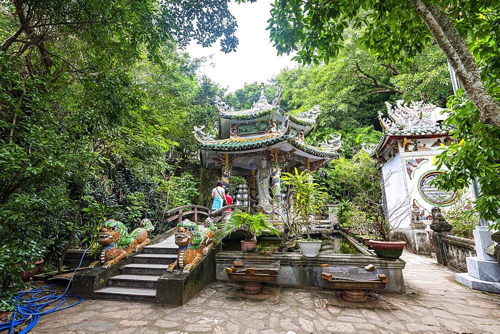 Buddhist Pagoda, Marble Mountains, Da Nang, Vietnam, Indochina, Southeast Asia, Asia