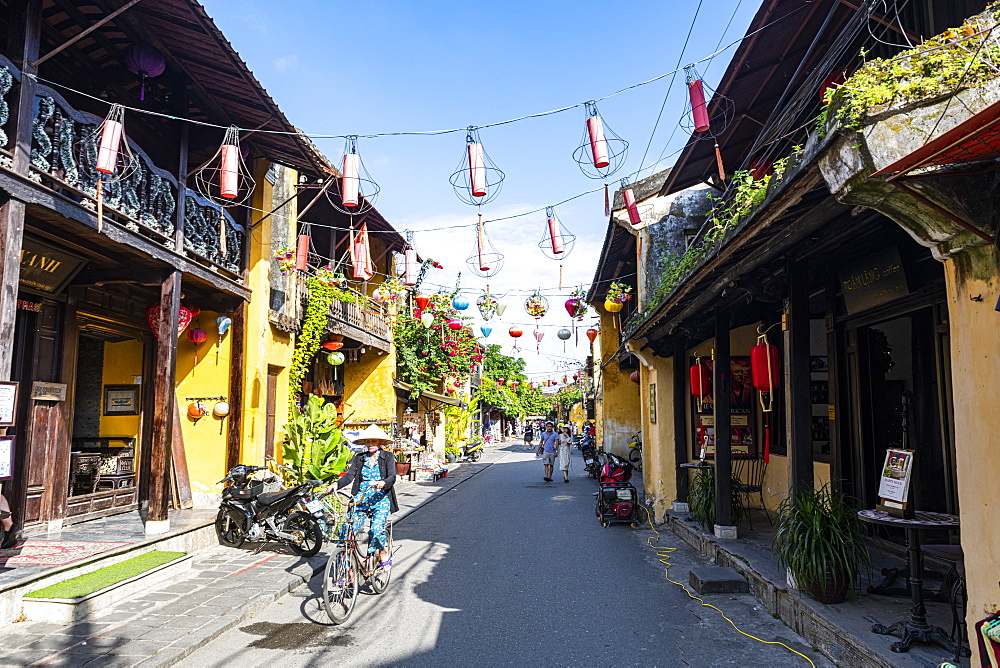 Historic district of the old town of Hoi An, UNESCO World Heritage Site, Vietnam, Indochina, Southeast Asia, Asia