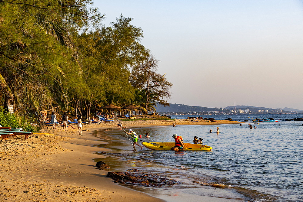 Ong Lang beach, island of Phu Quoc, Vietnam, Indochina, Southeast Asia, Asia