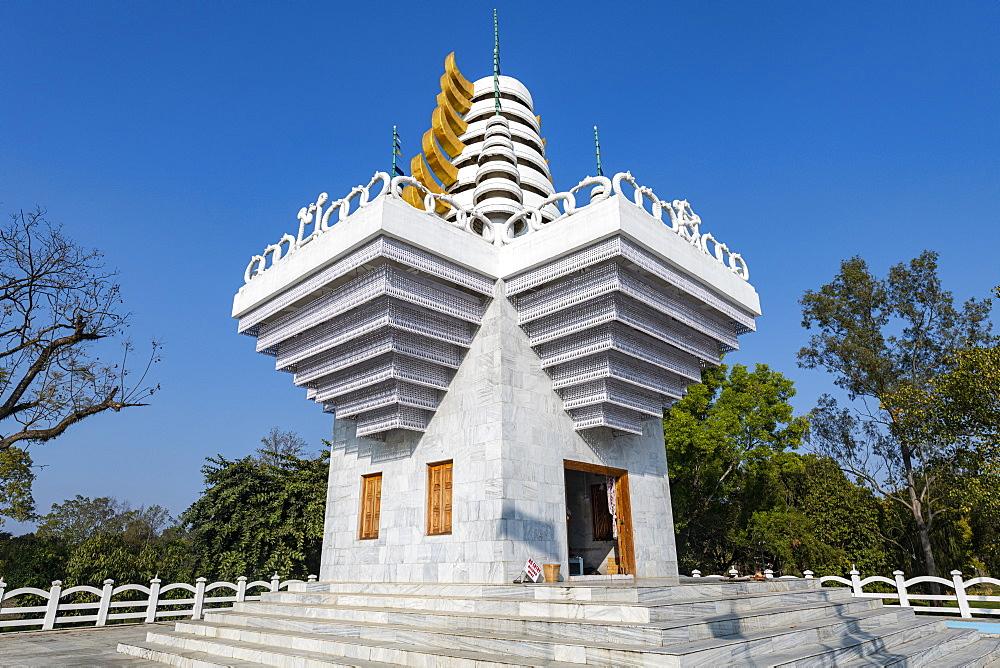 Ibuthou Pakhangba temple, Kangla palace, Imphal, Manipur, India