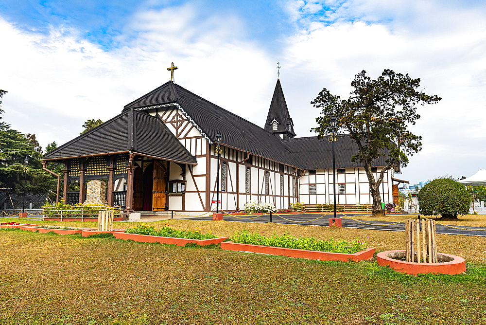 All Saints Cathedral, Shillong, Meghalaya, India, Asia