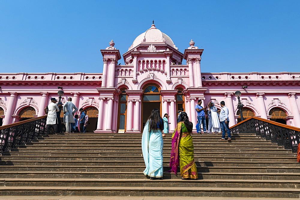 Entrance to the Pink palace, Ahsan Manzil, Dhaka, Bangladesh