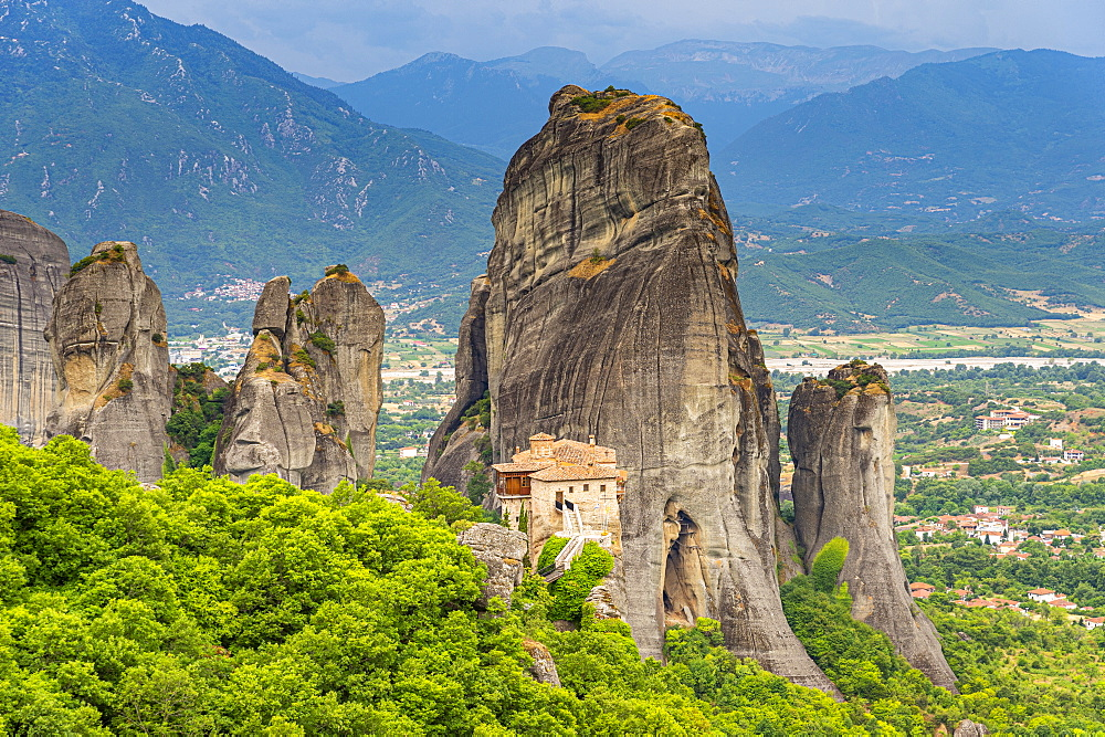 Holy Monastery of Rousanou, Unesco world heritage site Meteora monateries, Greece - 1184-4430