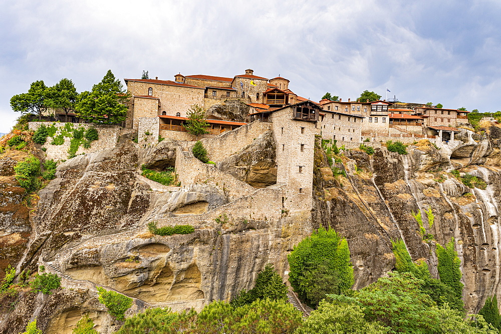 Holy Monastery of Great Meteoron, Unesco world heritage site Meteora monateries, Greece - 1184-4433
