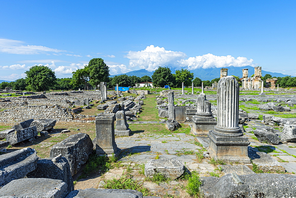 Unesco world heritage site Philippi, Macedonia, Greece - 1184-4464