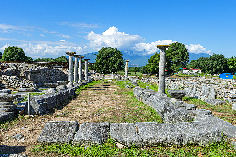 Unesco world heritage site Philippi, Macedonia, Greece - 1184-4465