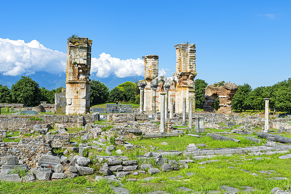 Unesco world heritage site Philippi, Macedonia, Greece - 1184-4466