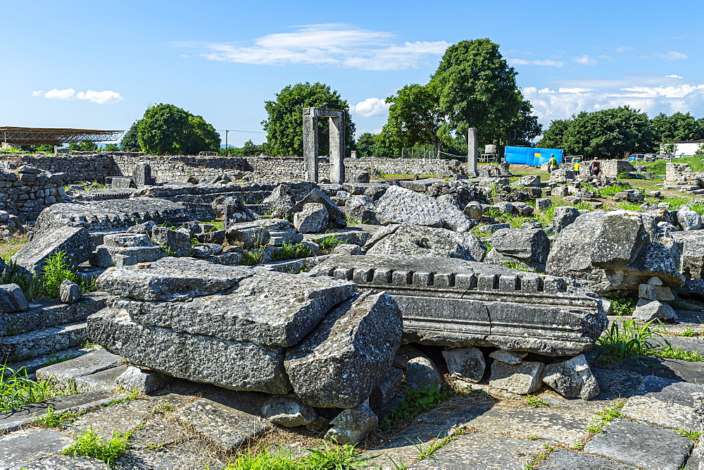 Unesco world heritage site Philippi, Macedonia, Greece - 1184-4467