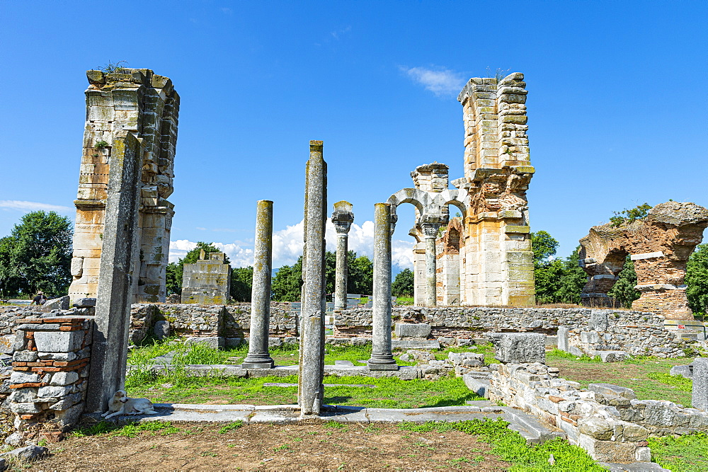 Unesco world heritage site Philippi, Macedonia, Greece - 1184-4468
