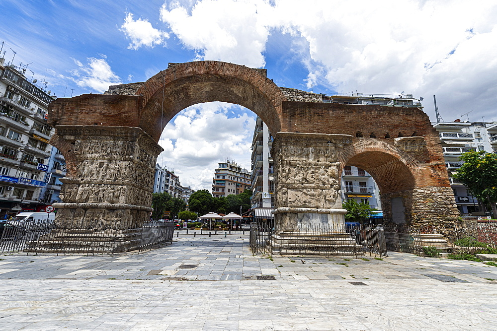 Arch of Galerius, UNESCO World Heritage Site, Thessaloniki, Greece, Europe