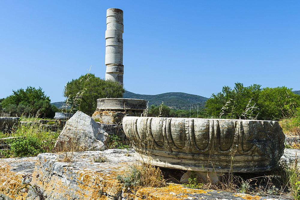 Unesco world heritage site, Heraoin of Samos, Greece - 1184-4514