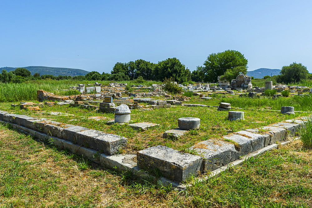 Unesco world heritage site, Heraoin of Samos, Greece - 1184-4516