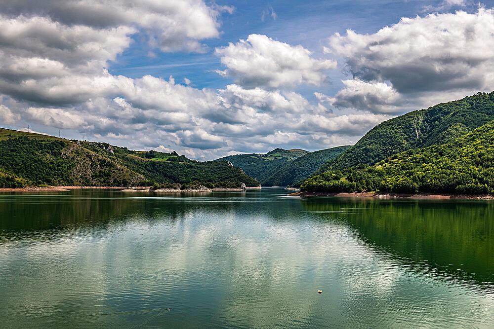 Uvac lake, Uvac Special Nature Reserve, Serbia, Europe - 1184-4716