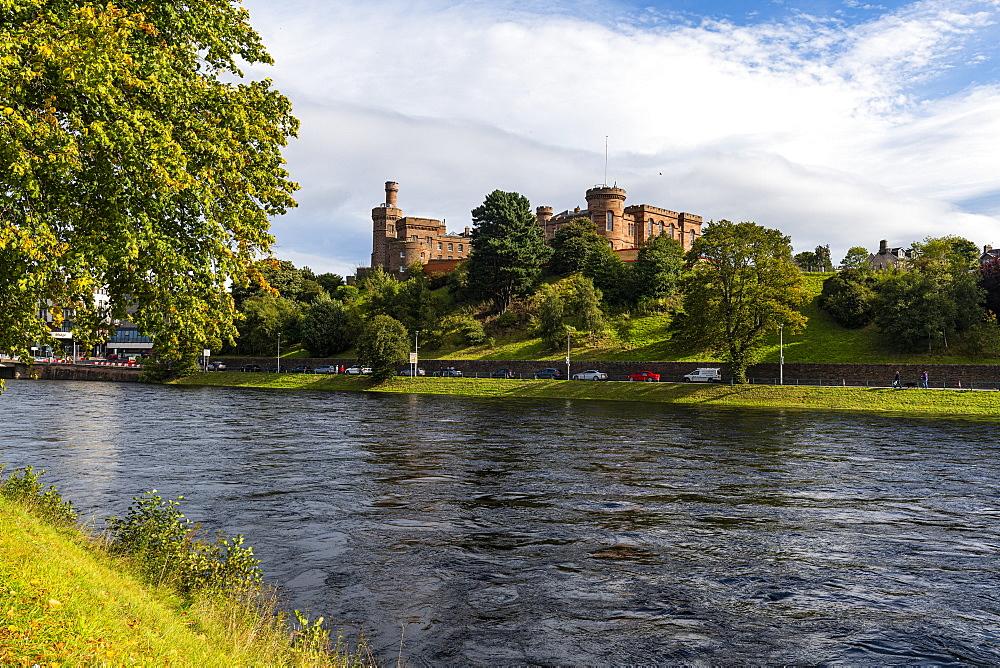 Inverness Castle, Inverness, Highlands, Scotland, United Kingdom, Europe - 1184-4751
